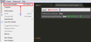 Sử dụng phím tắt trong sublime text 3 để lập trình nhanh hơn