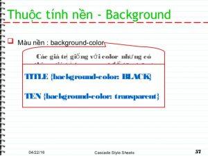 Hướng dẫn css thay màu nền cho đoạn văn trong soạn thảo wordpress