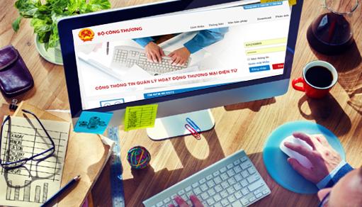 thông báo đăng ký website với bộ công thương