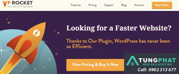 plugin tăng tốc wordpress wp rocket