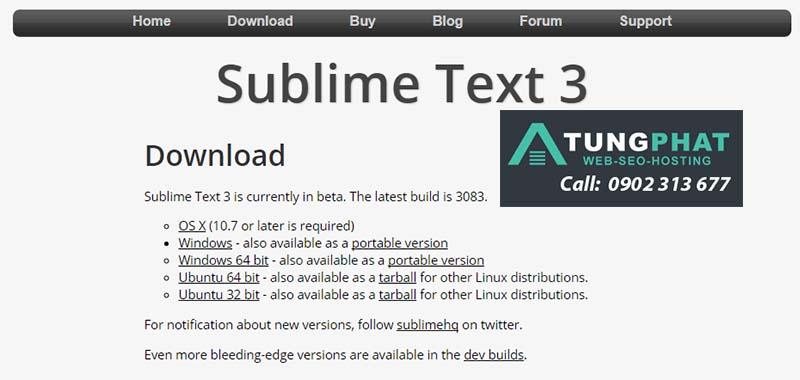 Cài Đặt Plugin Cho Sublime Text 3 Hay Sử Dụng Nhất