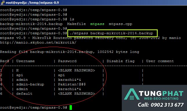Đặt Lại Mật Khẩu Admin Linux