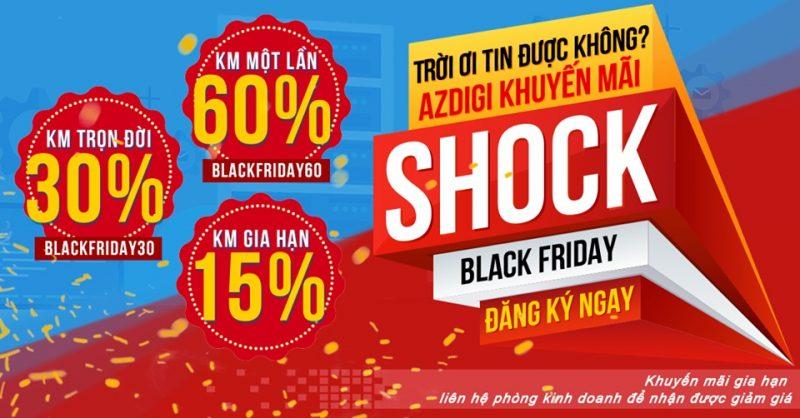 Black Friday Cơ Hội Mua Sắn Domain Hosting Giảm Giá Khủng