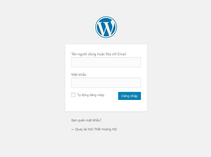 Bài 1. Hướng Dẫn Đăng Nhập Vào Quản Trị Website WordPress Mới Nhất