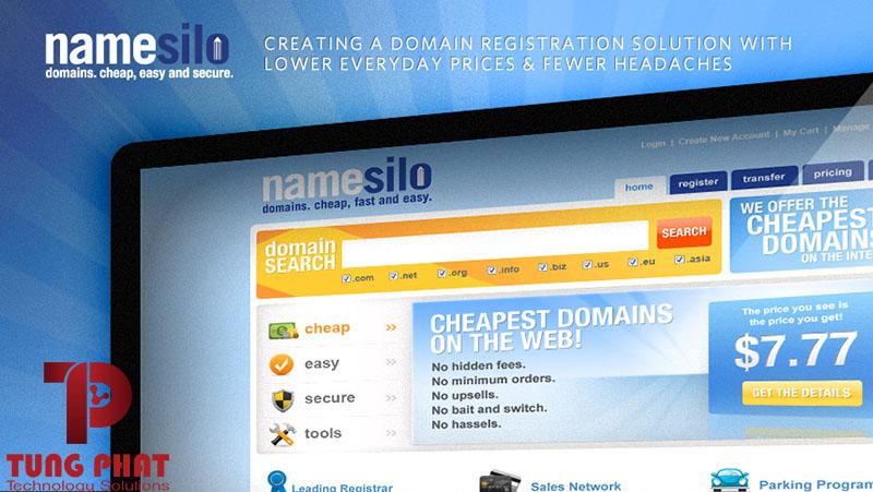 Hướng Dẫn Chuyển Domain ( Tiên Miền ) giữa các tài khoản NameSilo