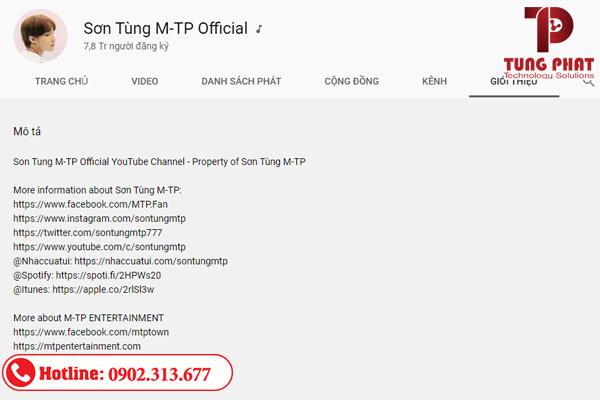 cách tăng sub youtube tối ưu mô tả