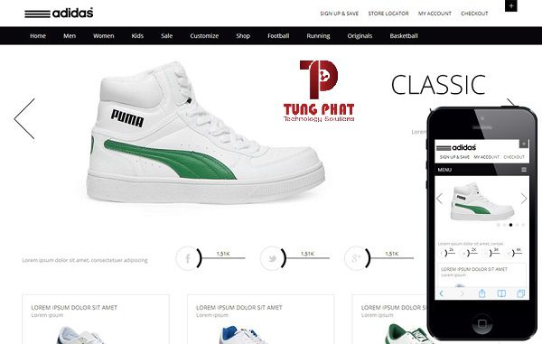 Template website Whity-Ecommerce
