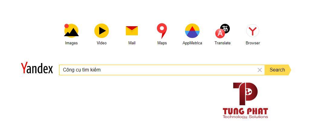 Công cụ tìm kiếm Yandex