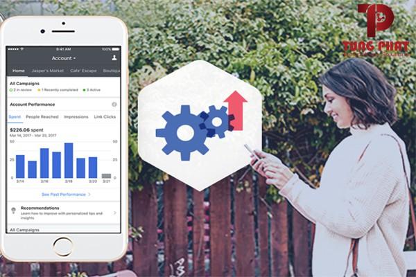 Công cụ facebook ads manager app
