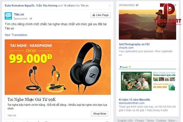 quảng cáo facebook không hiệu quả do hình ảnh
