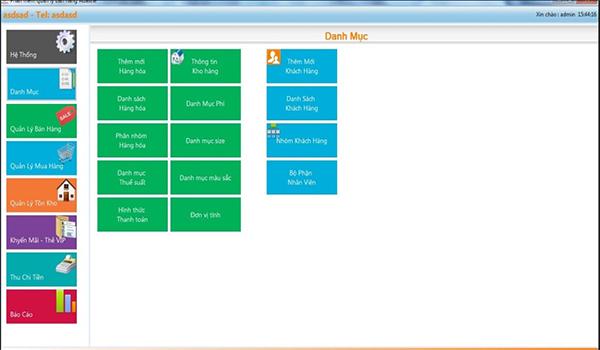 Phần mềm quản lý bán hàng miễn phí FPI