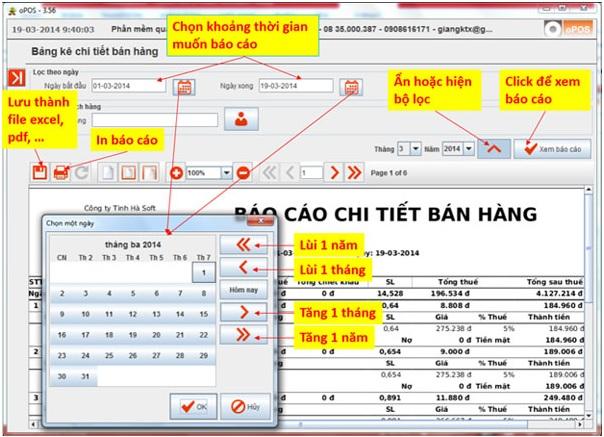 Phần mềm quản lý bán hàng miễn phí oPos