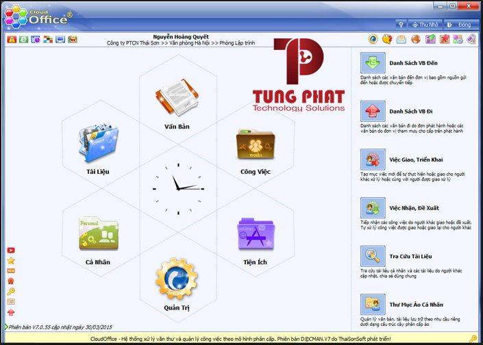 Phần mềm Cloud Office
