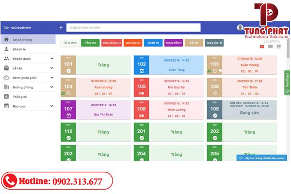phần mềm quản lý khách sạn ezcloud hotel