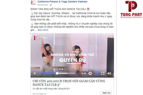 Sử dụng video quảng bá facebook