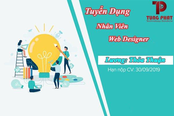 tuyển nhân viên web designer