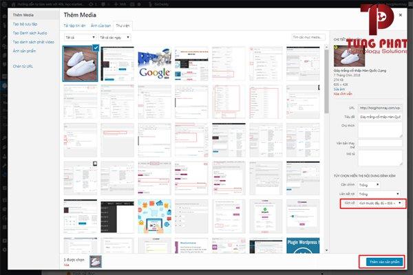 đăng sản phẩm lên website wordpress cơ bản