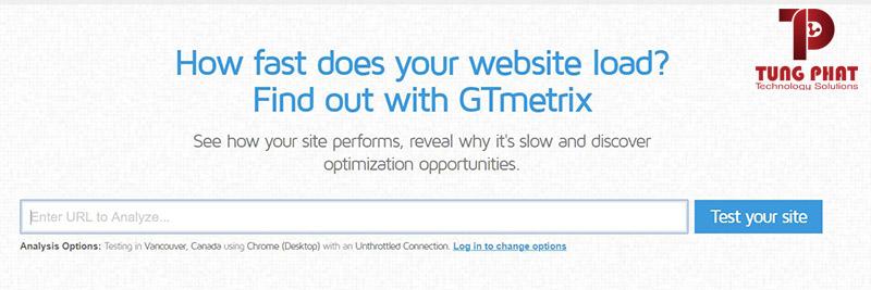 check tốc độ website