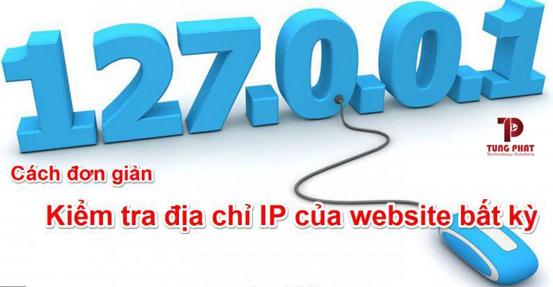 Kiểm tra ip website