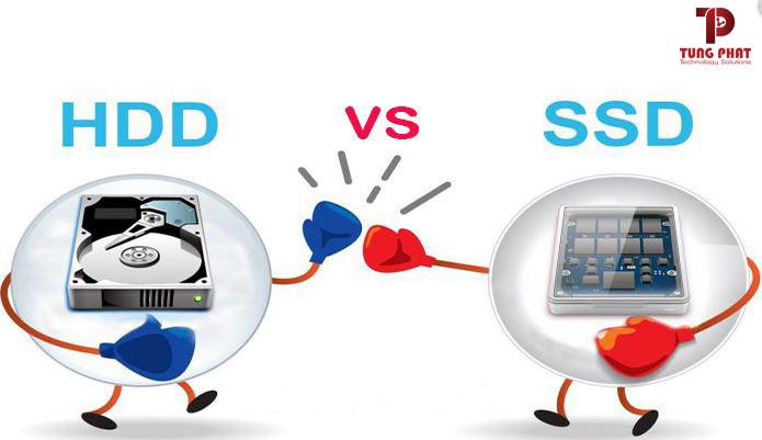 So sánh ssd và hdd