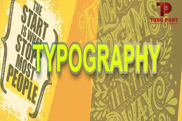 thiết kế typography đẹp