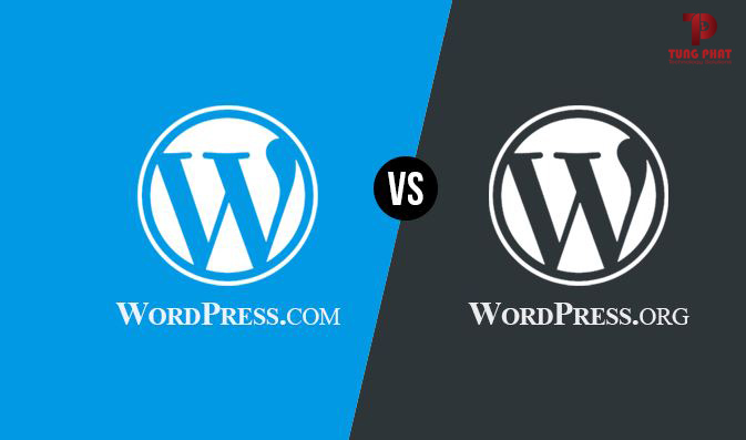 Wordpress.com với wordpress.org