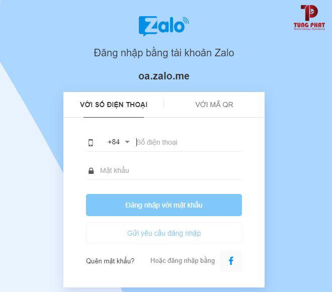 Tạo tài khoản Zalo Officical Account