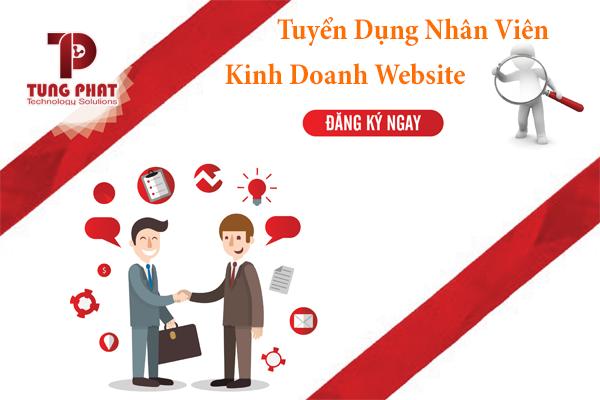 Tuyển dụng nhân viên kinh doanh website