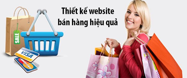thiết kế website bán hàng qua mạng