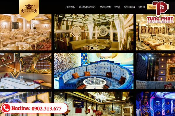 giá dịch vụ thiết kế website quán karaoke