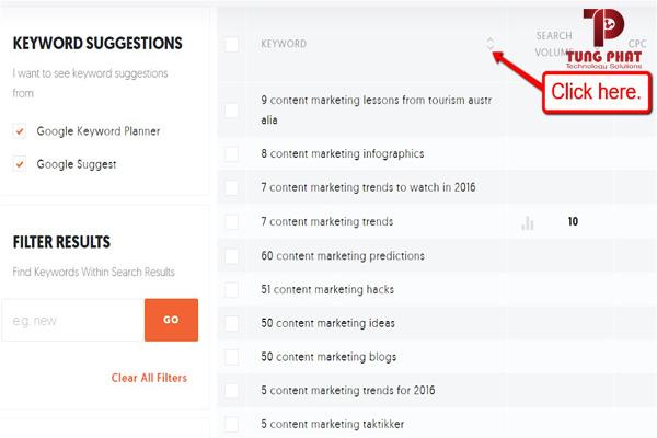 công cụ nghiên cứu content marketing