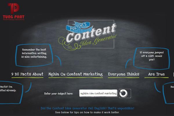 nghiên cứu content marketing