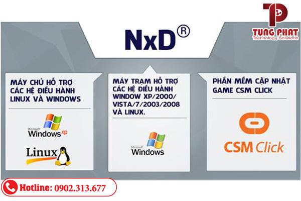 Phần mềm quản lý phòng máy NXD