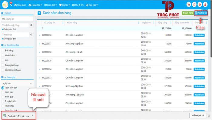 phần mềm quản lý bán hàng online tuha